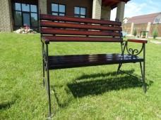 Садовая скамейка Люкс1-min